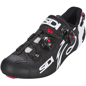 Sidi Wire Carbon Shoes Men Matt Black/White